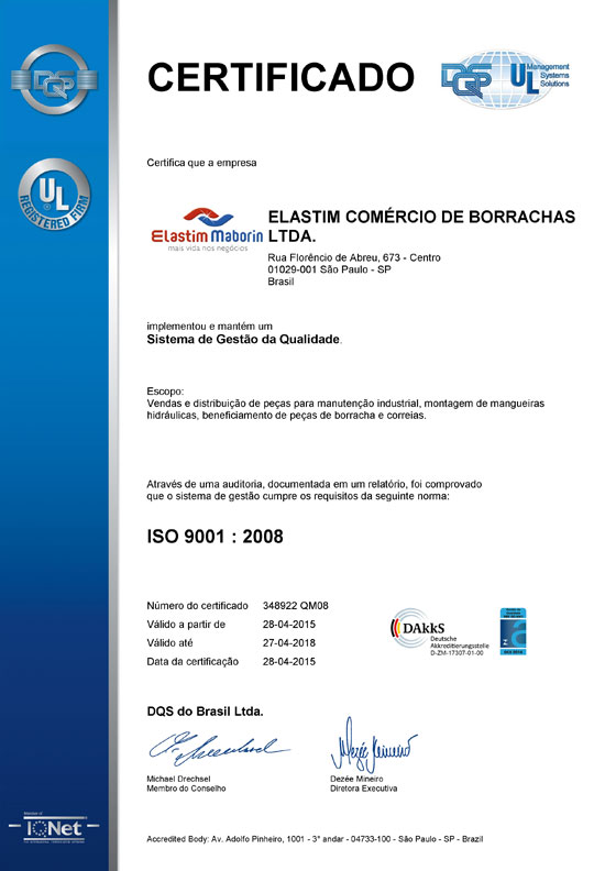 Certificado Maborin