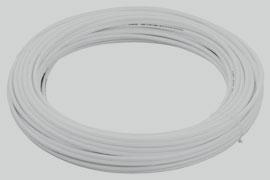 Tubo de Polietileno Branco - Maborin